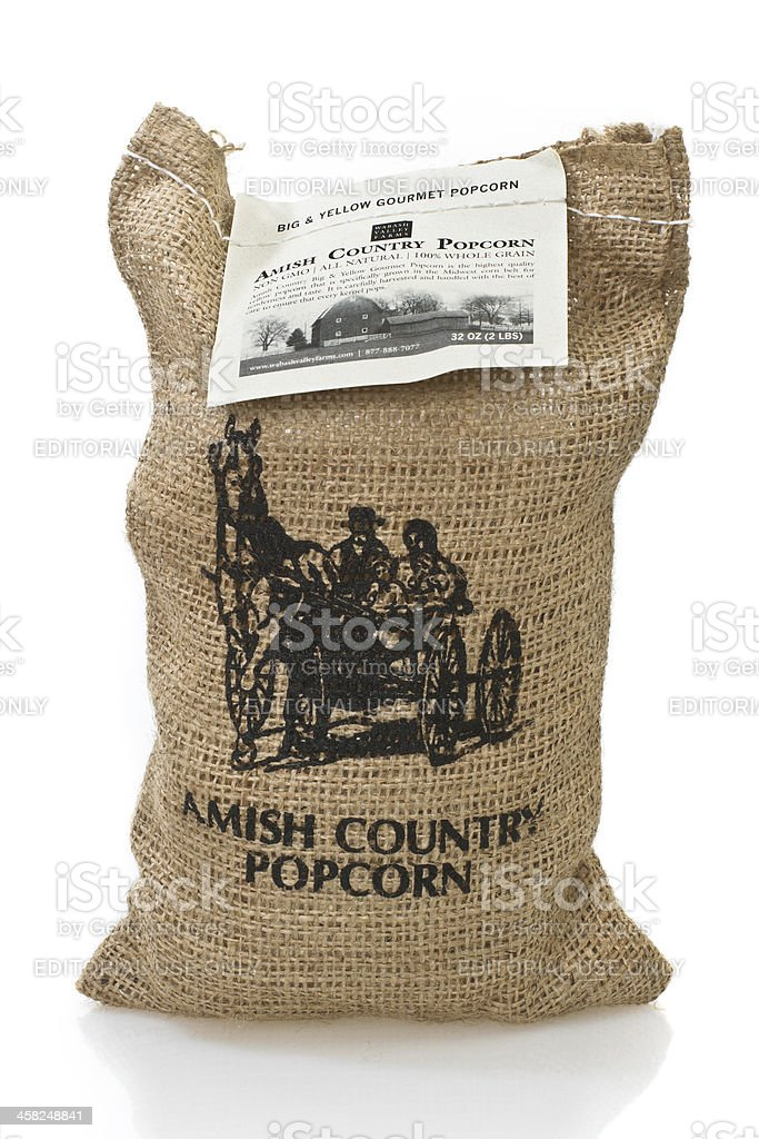Amish Country Gourmet Popcorn royalty-free stock photo