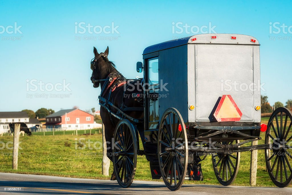 Amish Country stock photo