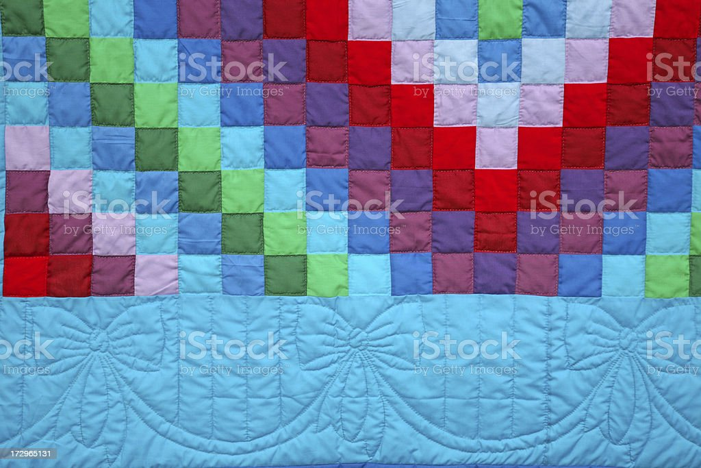 Amish Quilt stock photo