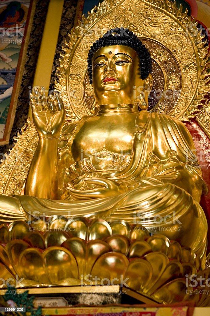 Amithaba Buddha royalty-free stock photo