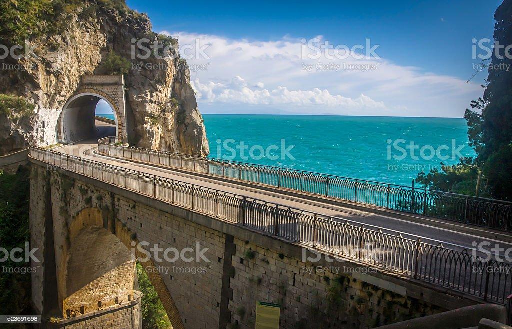Amlfi Coast, Italy stock photo