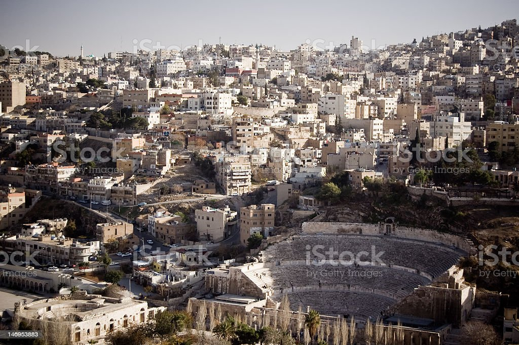 Amman by day royalty-free stock photo