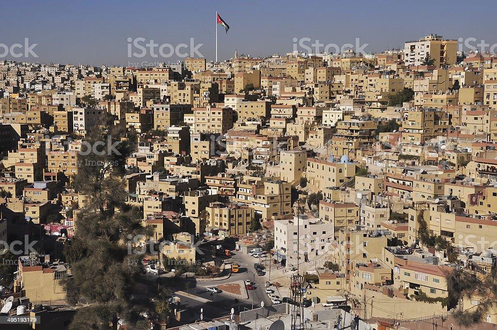 Amman Jordan stock photo