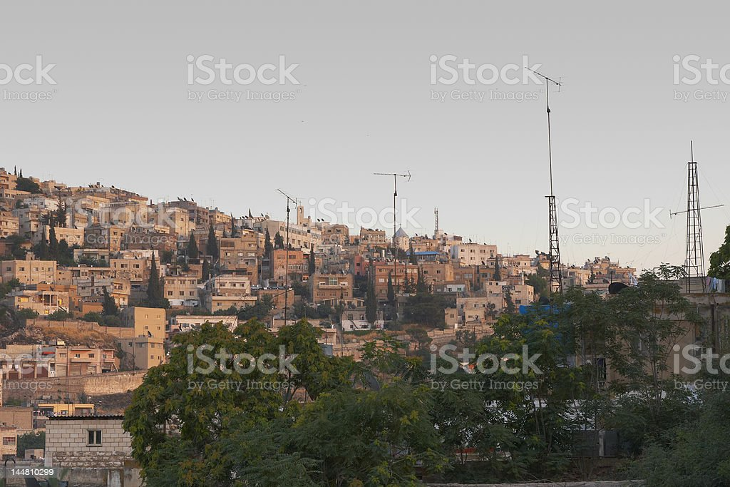 Amman Neighborhood royalty-free stock photo