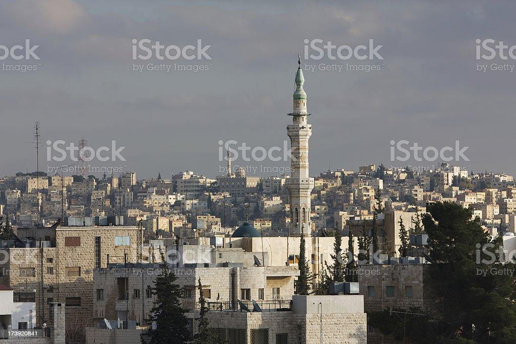 Amman Skyline, Jordan royalty-free stock photo