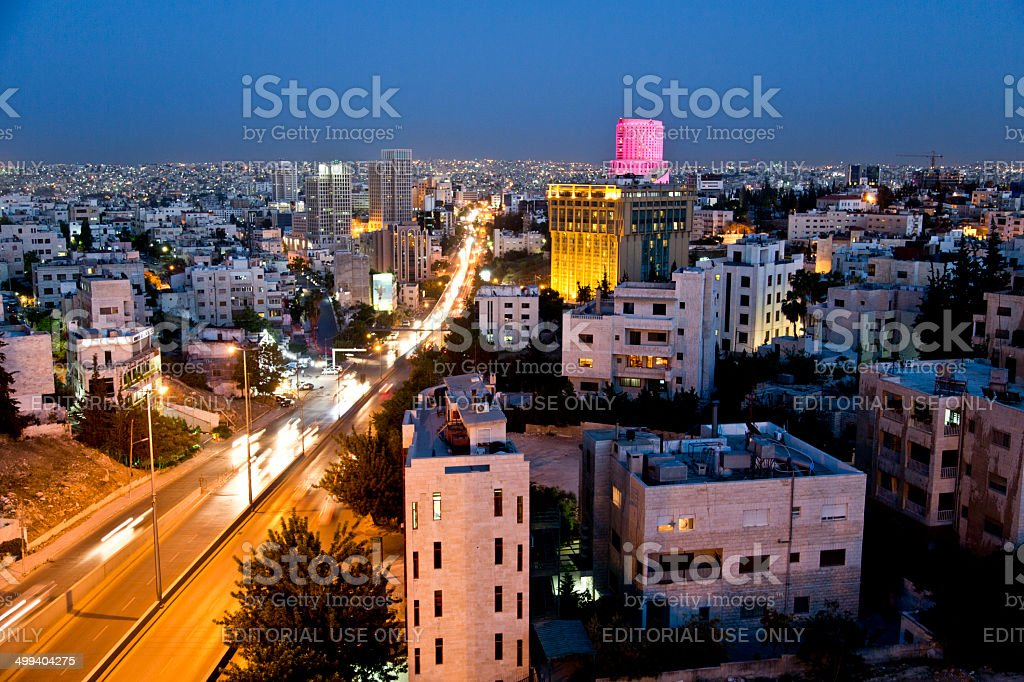 Amman,Jordan stock photo