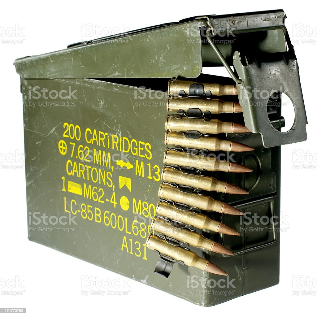 ammo box royalty-free stock photo
