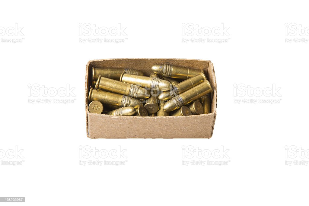 ammo boxed royalty-free stock photo