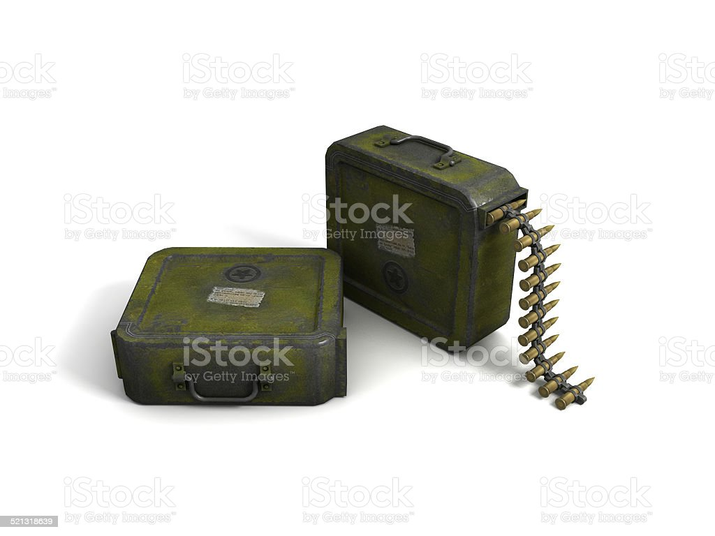 Ammo Clip stock photo