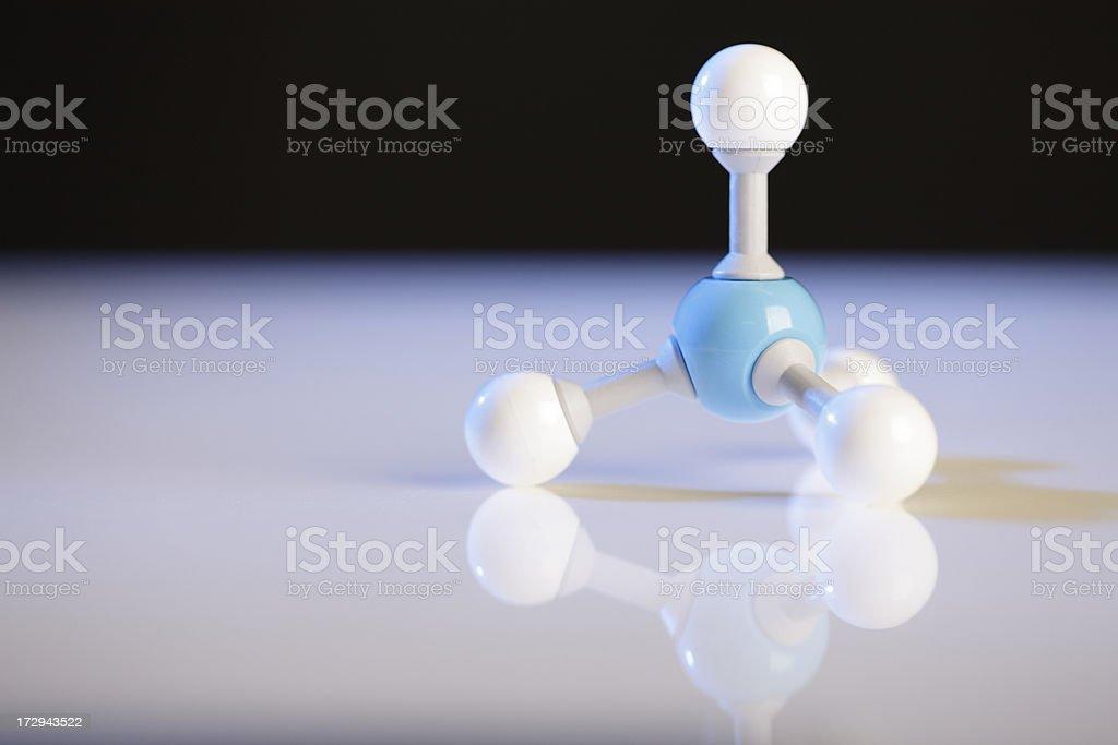 Ammonium Molecule stock photo