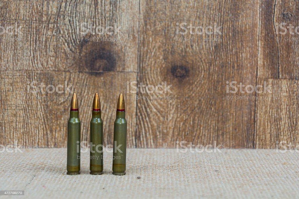 SKS Ammunition or bullets background stock photo