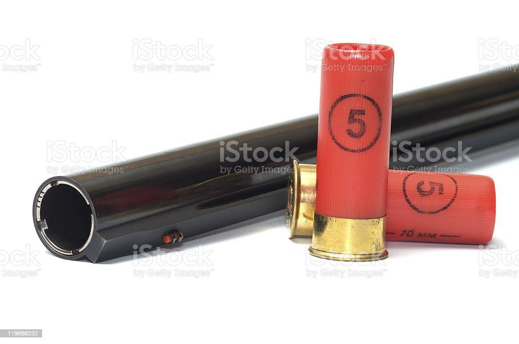 Ammunition. royalty-free stock photo