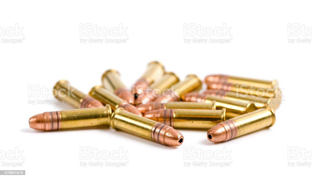 Ammunition stock photo