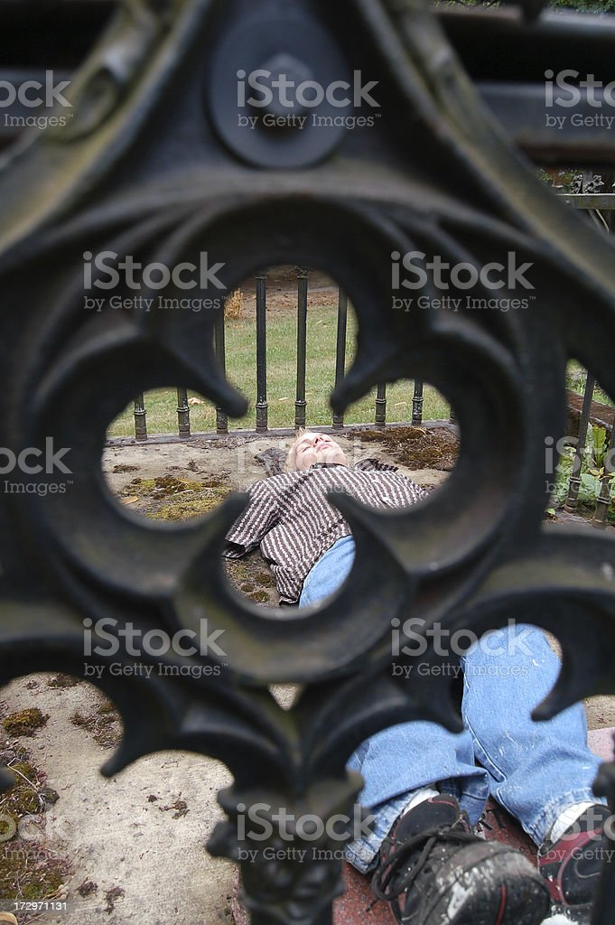 Among The Dead stock photo