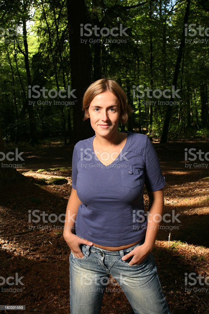 Amongst the Trees4 royalty-free stock photo
