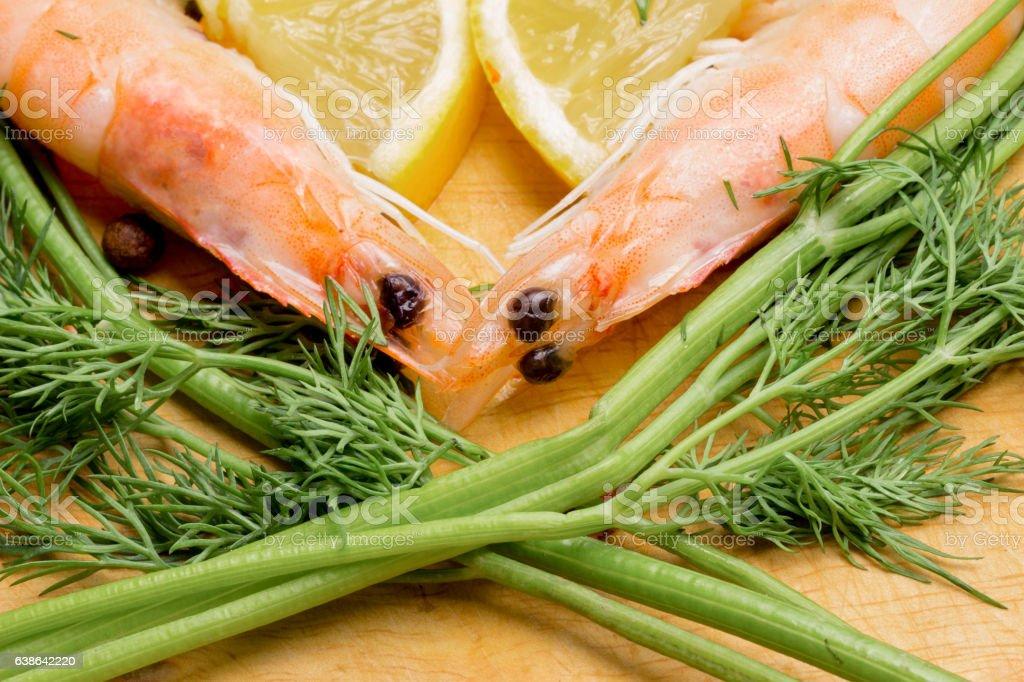amountain of raw shrimp to prigotovleniya beer snacks stock photo
