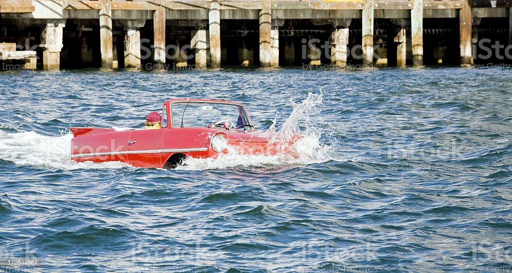 Amphibious Automobile stock photo