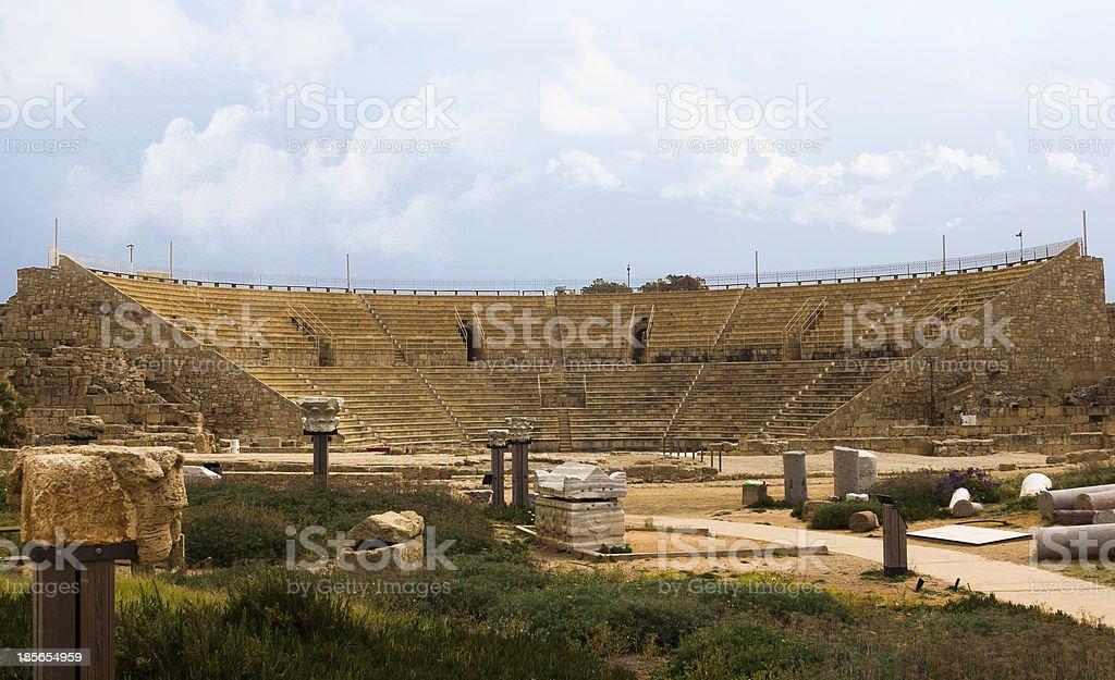 Amphitheate royalty-free stock photo