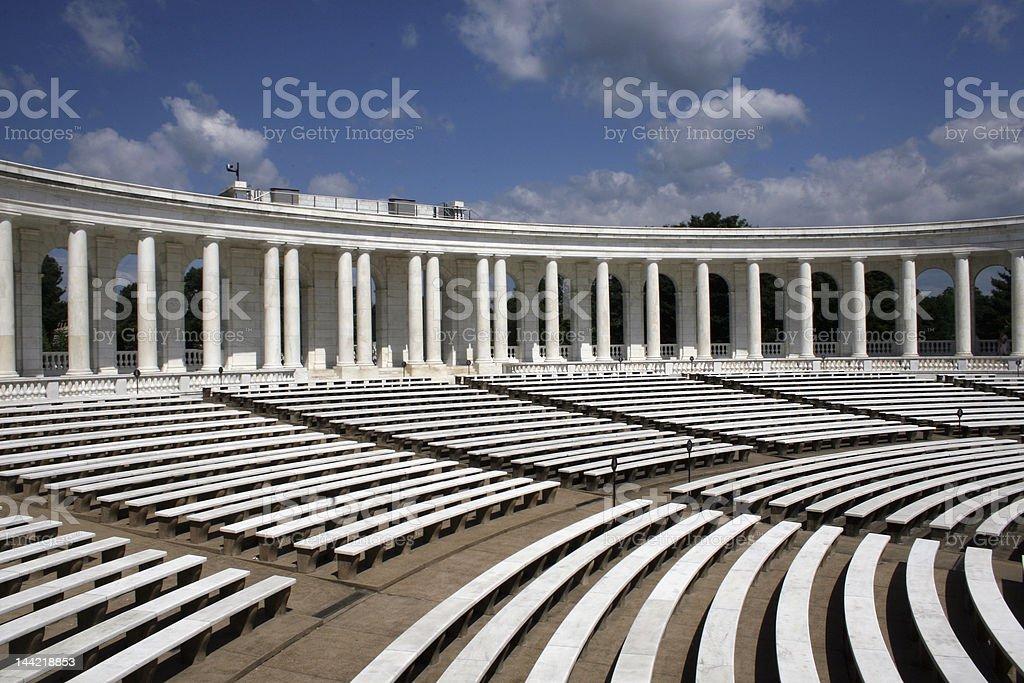 Amphitheater, Arlington royalty-free stock photo