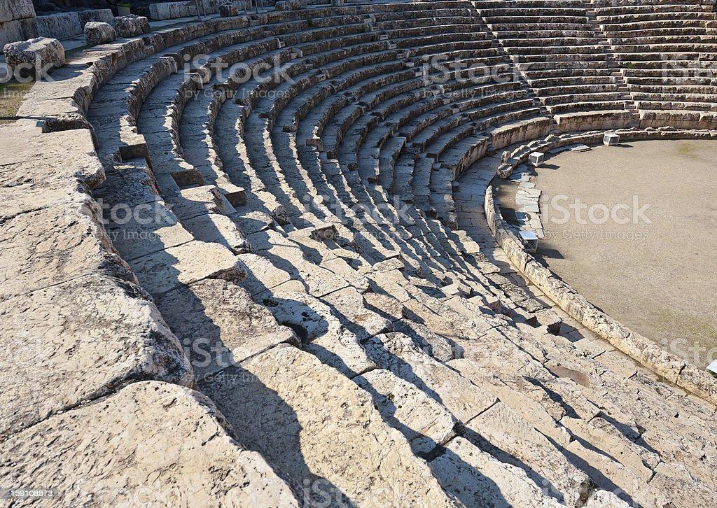 Amphitheater royalty-free stock photo