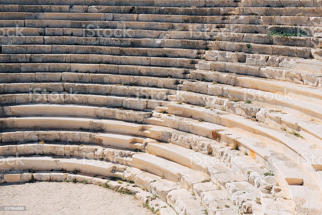 Amphitheater stock photo