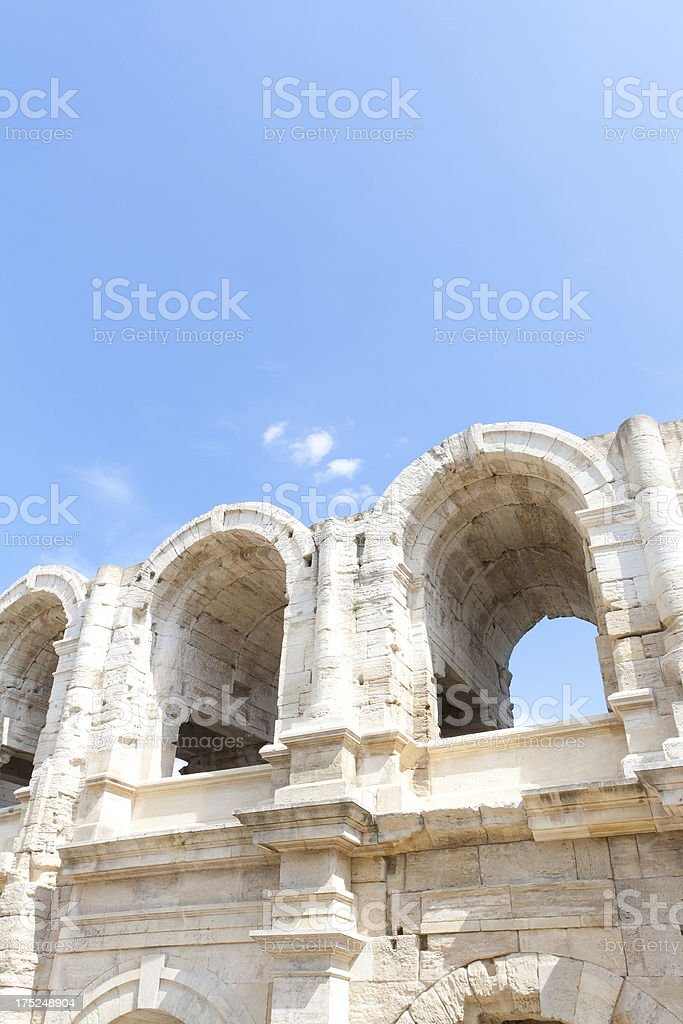 amphitheatre in france royalty-free stock photo