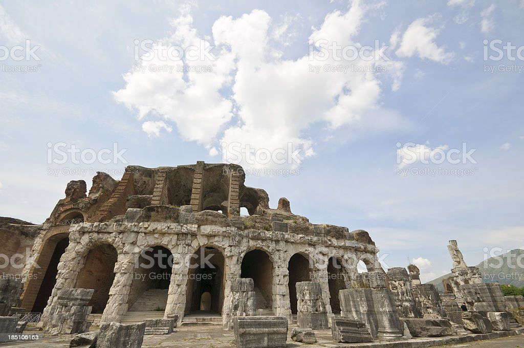 Amphitheatre of Capua royalty-free stock photo