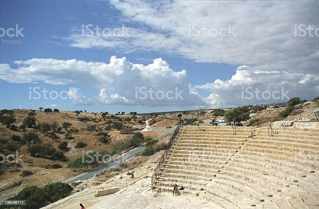 Amphitheatre royalty-free stock photo