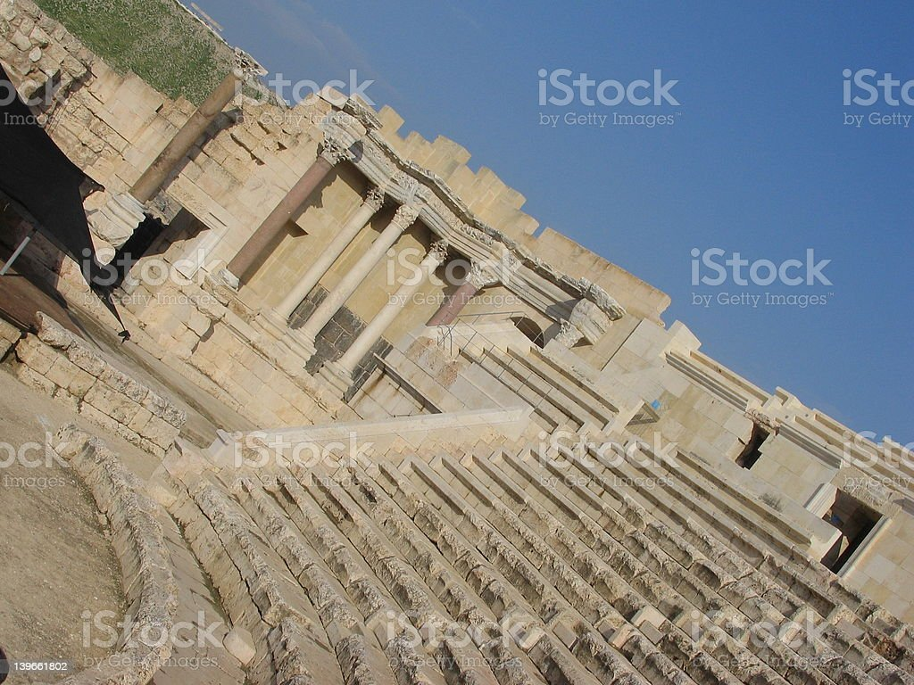 amphitheatre royalty-free stock photo
