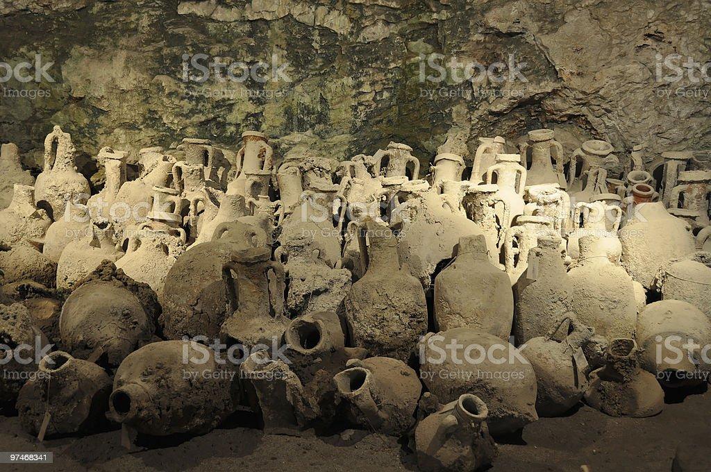 Amphoras stock photo