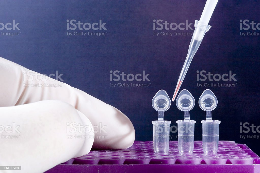 Amplification of DNA #2 royalty-free stock photo