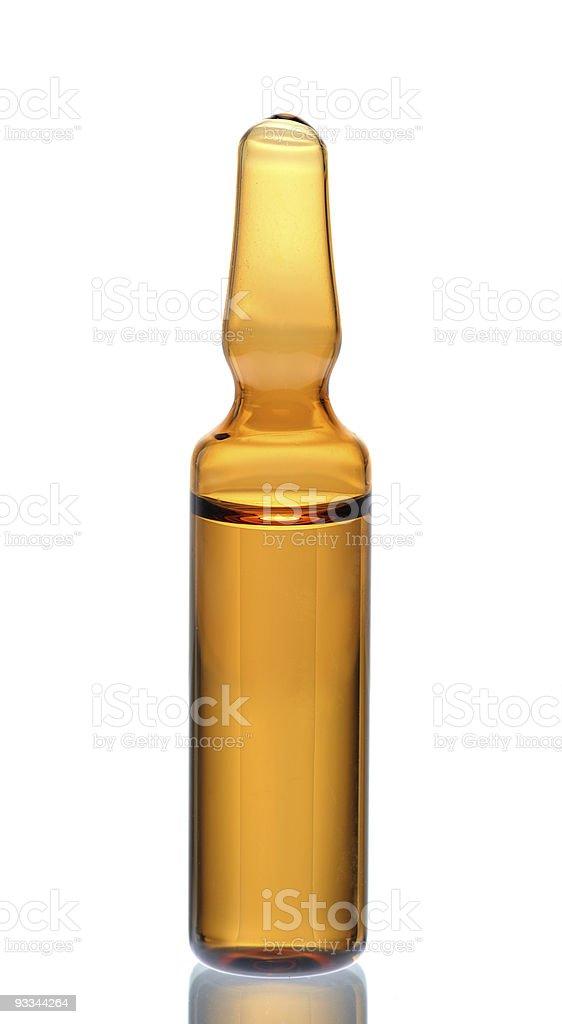 ampoule stock photo