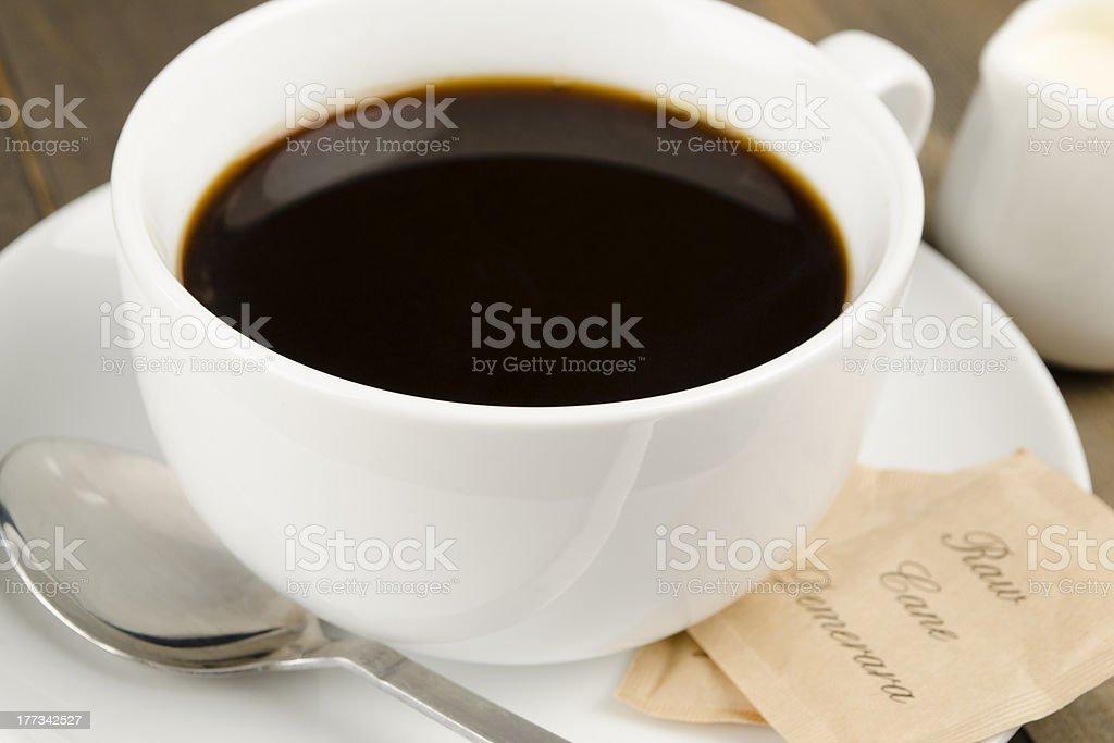 Amreicano Black Coffee royalty-free stock photo
