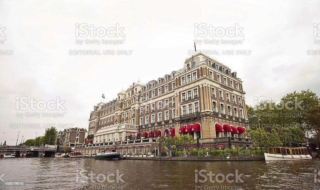 Amstel, Amsterdam royalty-free stock photo