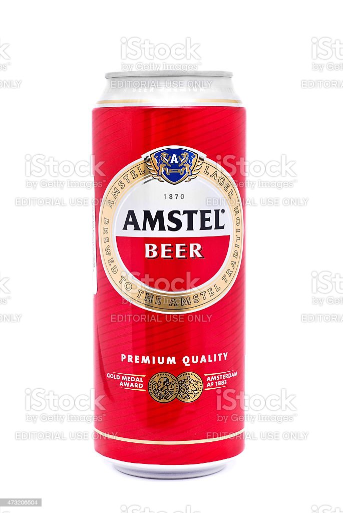 amstel beer stock photo