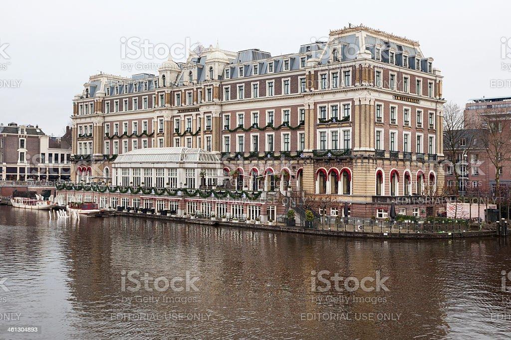 Amsterdam, Amstelhotel stock photo