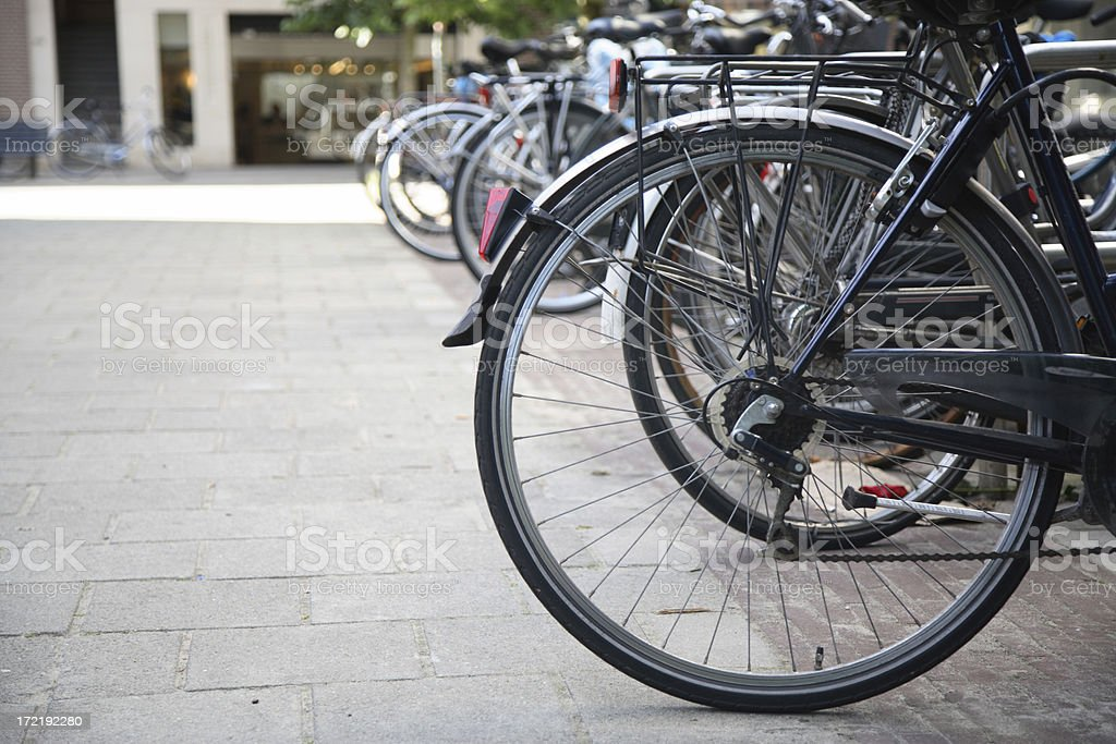 Amsterdam: Bicycles stock photo