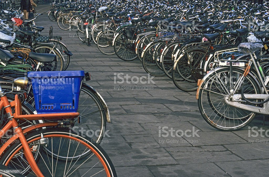 Amsterdam Bike Park royalty-free stock photo
