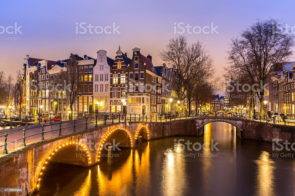 Amsterdam Canals stock photo
