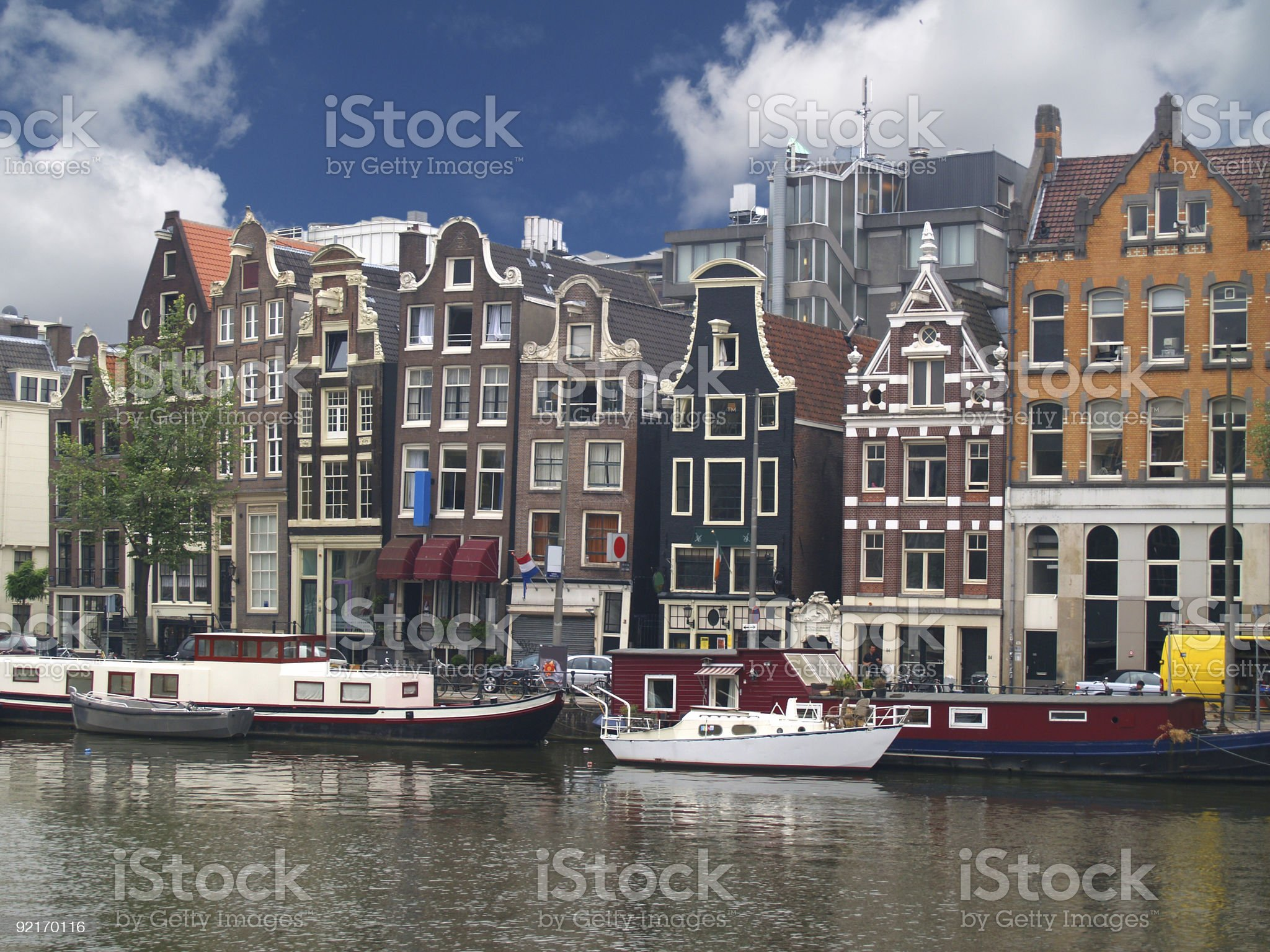 Amsterdam canals royalty-free stock photo