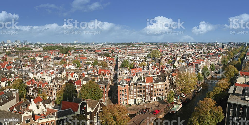 Amsterdam, Capital of the Netherlands royalty-free stock photo