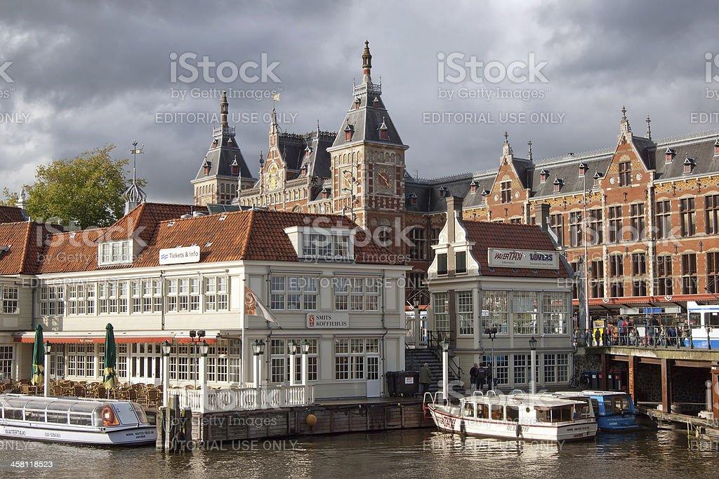 Amsterdam Centraal stock photo