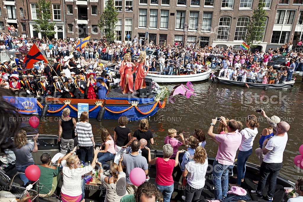 Amsterdam Gay Pride # 17 XL royalty-free stock photo