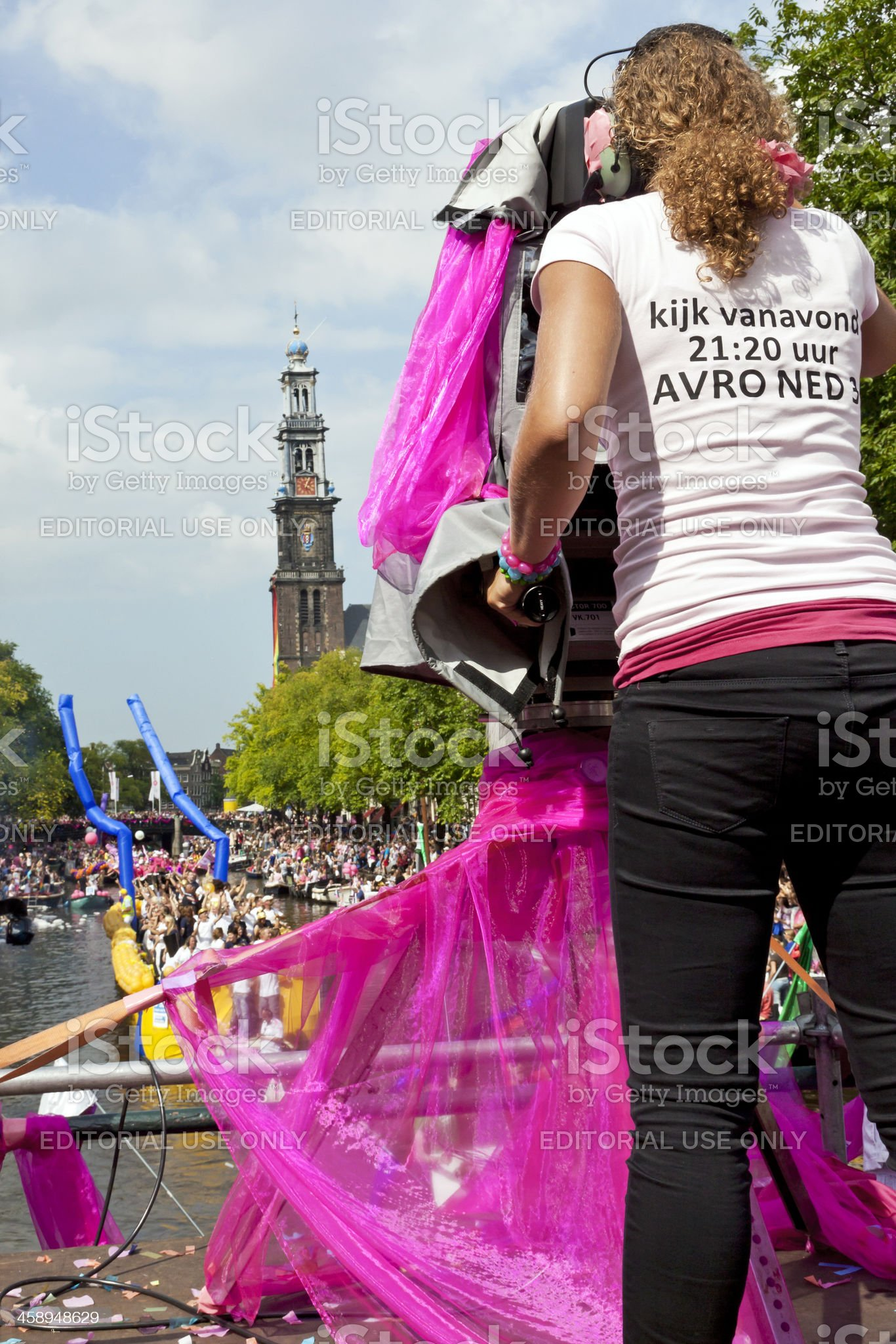Amsterdam Gay Pride # 21 XL royalty-free stock photo