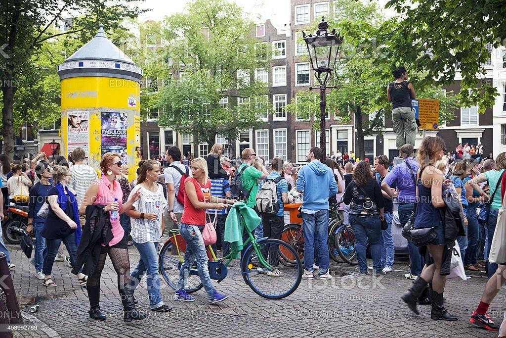 Amsterdam Gay Pride # 18 XXXL royalty-free stock photo