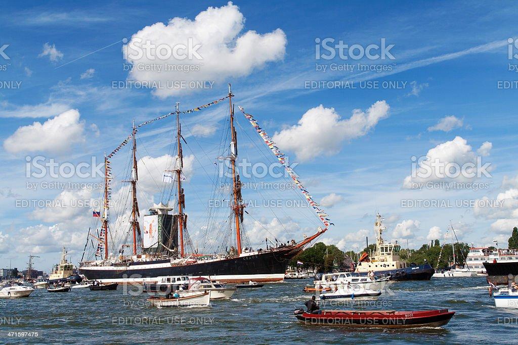 Amsterdam Sail royalty-free stock photo