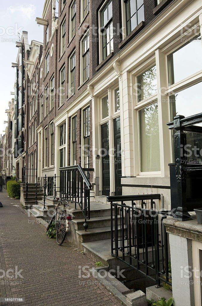 Amsterdam street royalty-free stock photo
