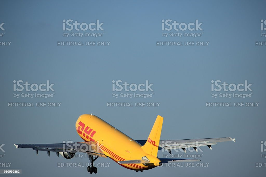 Amsterdam, the Netherlands - August, 18th 2016: D-AEAP stock photo