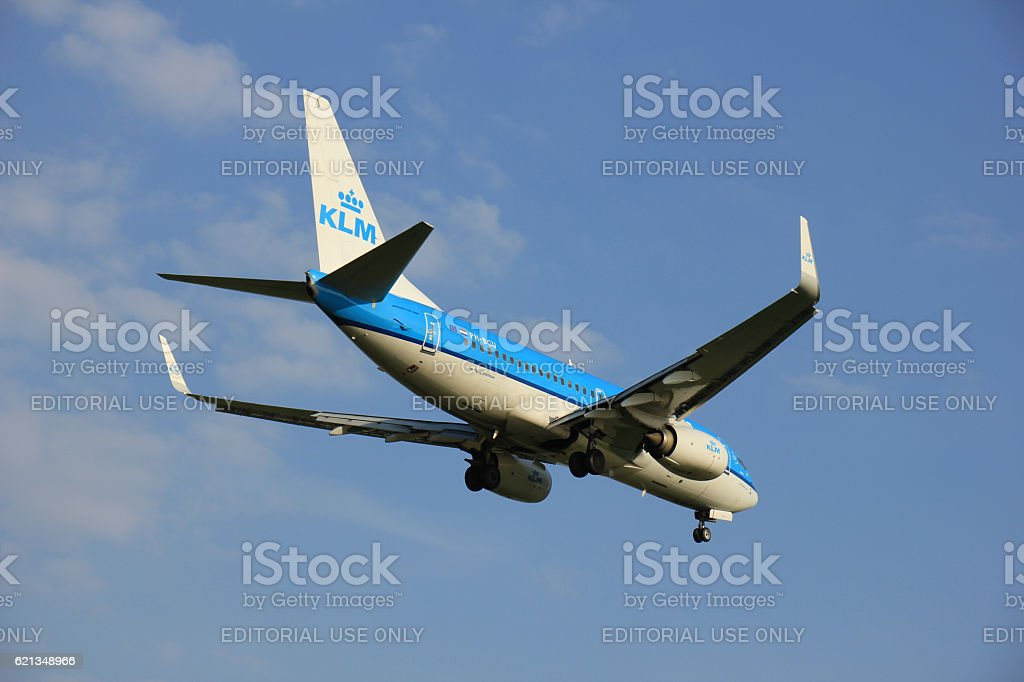 Amsterdam the Netherlands - May 6th 2016:  PH-BGU KLM stock photo