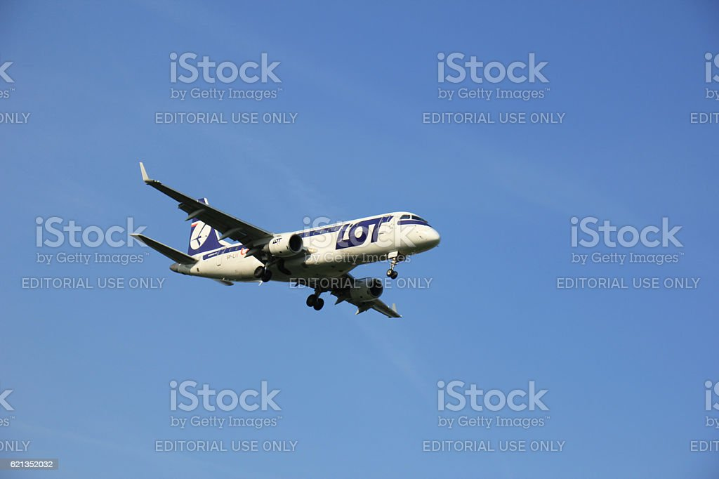 Amsterdam the Netherlands - May 6th 2016: SP-LII LOT stock photo